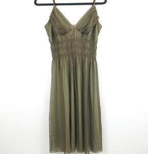 3/$20 Necessary Objects Olive Green Dress Sz XL